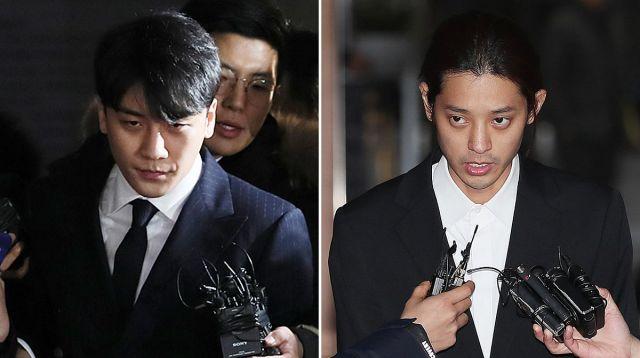 韩歌手胜利郑俊英向13人发偷拍视频,警察厅称对只观看的人未立案