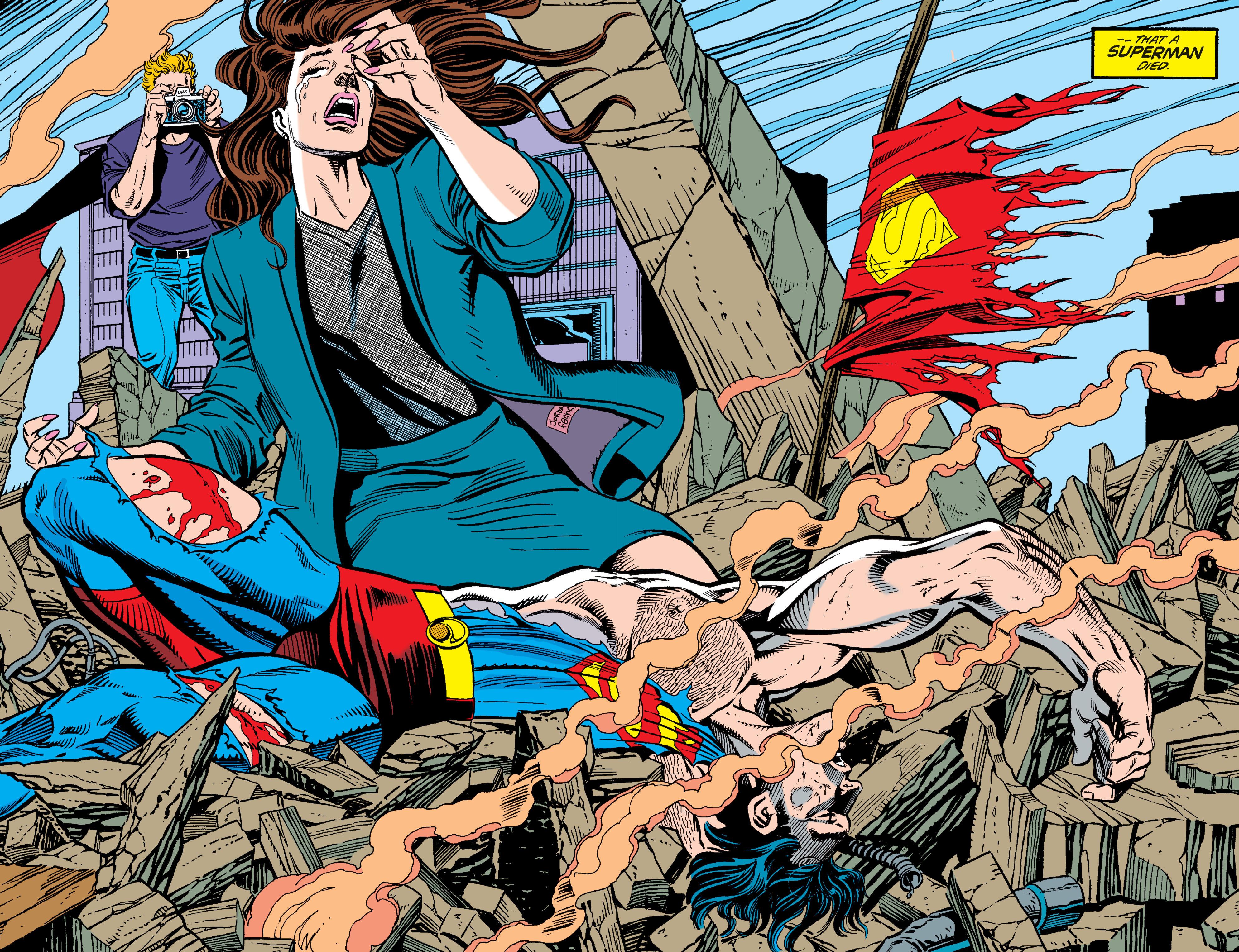 《超人之死》和即将要出的《超人王朝》都是改编于当年的经典漫画