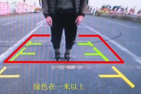 """倒车影像""""黄红绿""""线怎么看?记住这3条规律新手变老司机"""