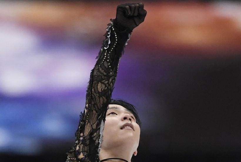 羽生结弦比赛后的手势,包含着怎样的含义?