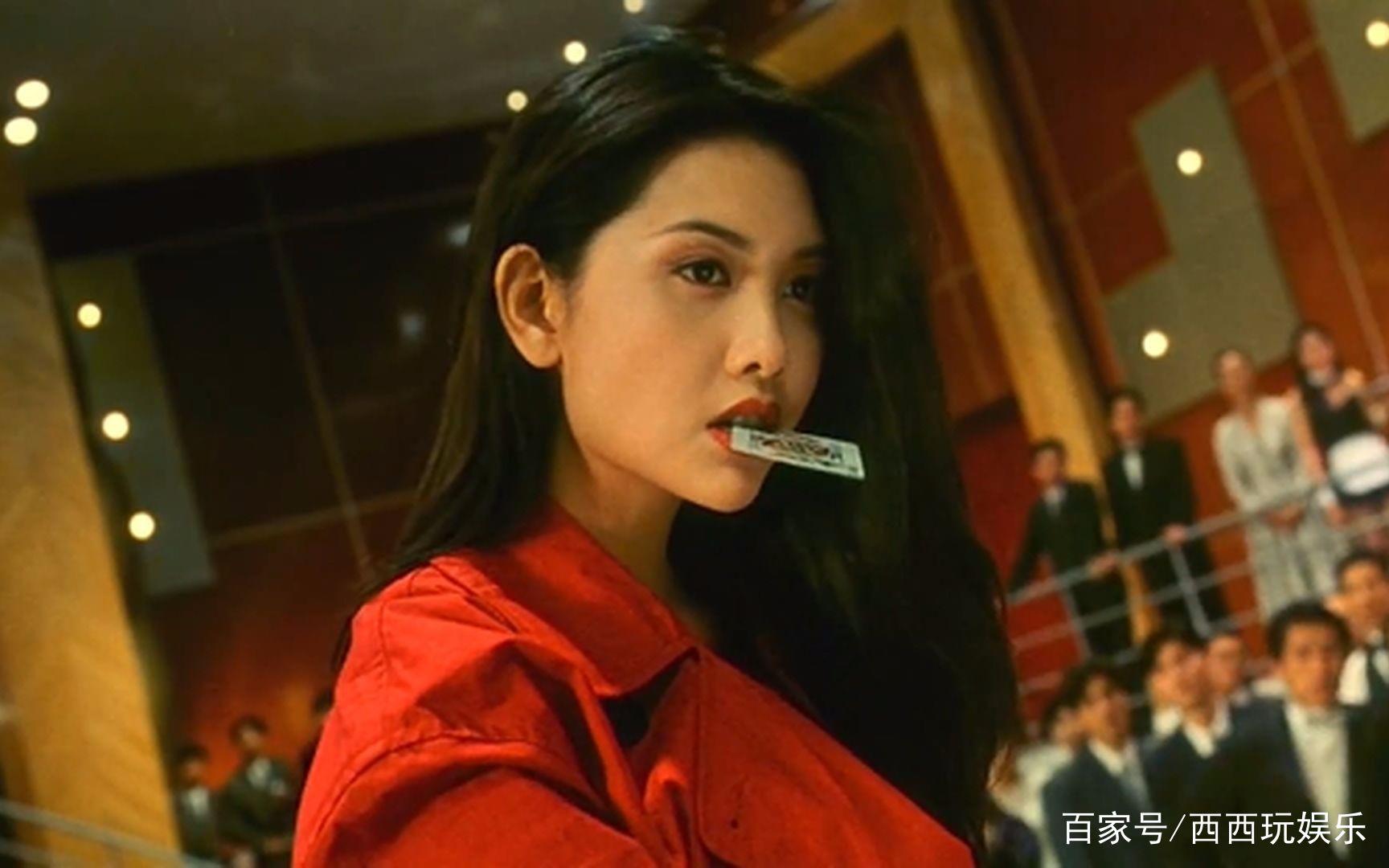 那些经典电影里无法超越的镜头:朱茵眨眼,青霞喝酒