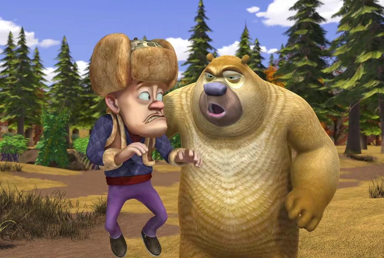 熊出没:盘点动画中三观不正的3个现象,小朋友们千万不要学!
