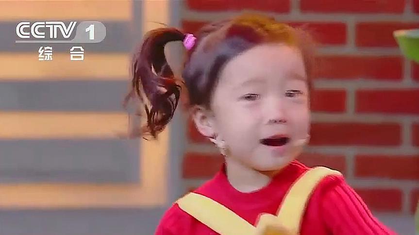 小萌娃表演小品,把亲妈都给气乐了,撒贝宁笑得坐不住了!