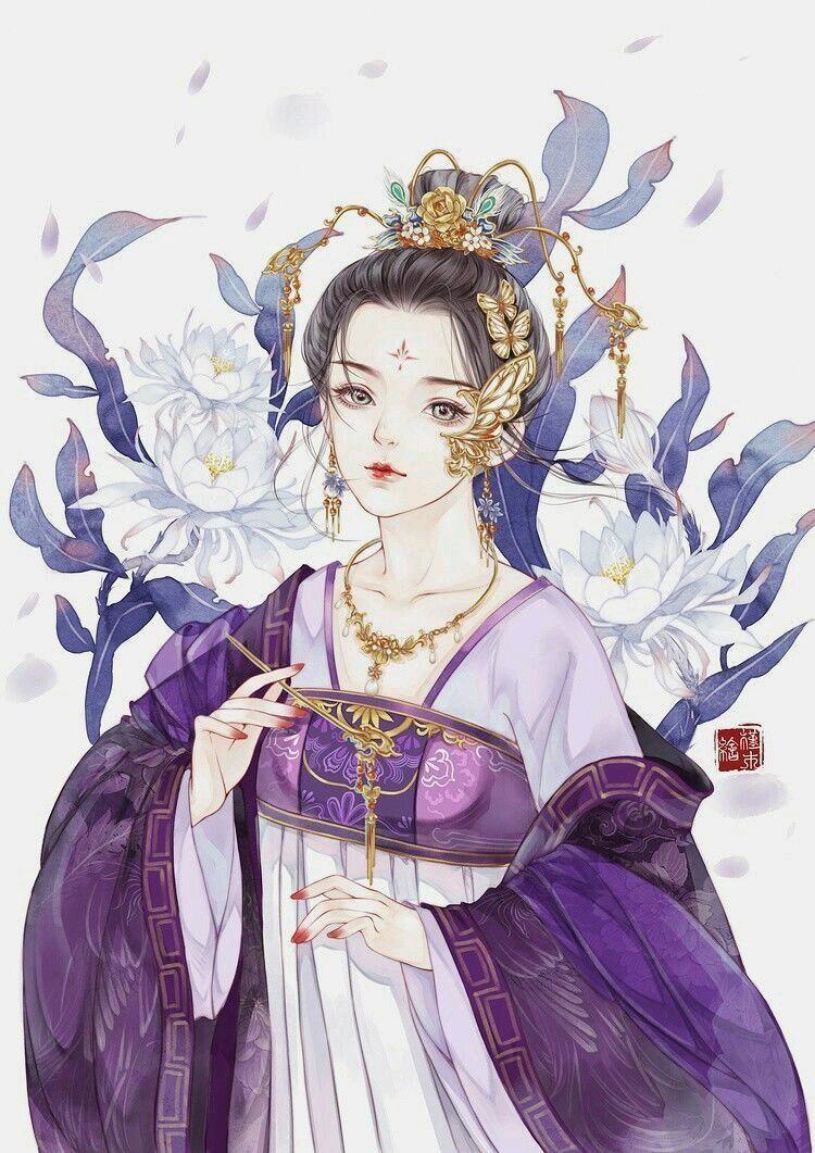 唯美古风手绘女生头像,谁应了谁的劫,谁又变成了谁的