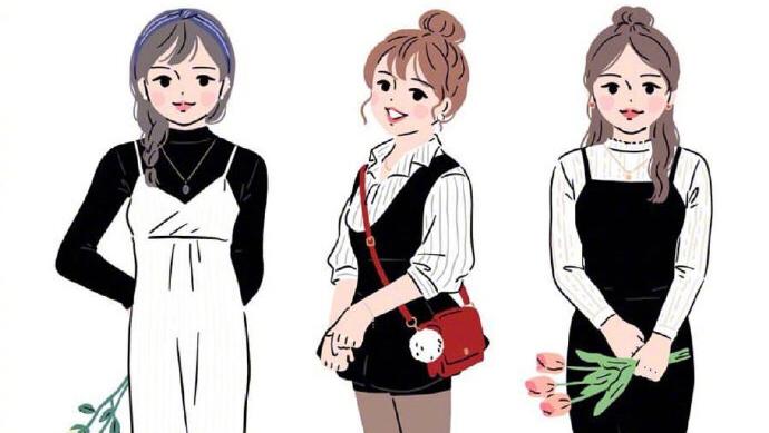 个子矮的微胖女孩如何穿搭,这样穿显高又显瘦,轻松变时髦