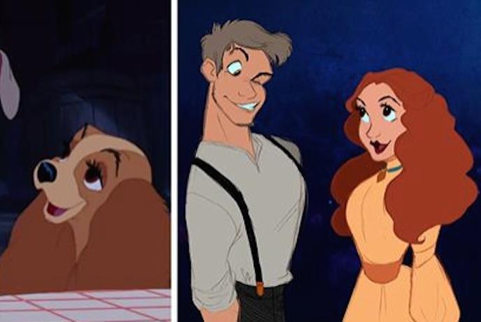 艺术家把迪士尼动画里的动物变成人类,满足了我们全部的童年幻想