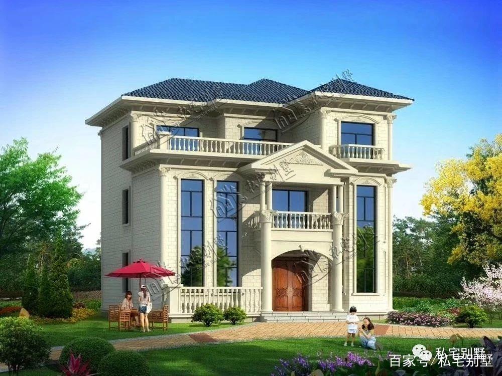 2019年建房不用愁,15款欧式三层别墅户型任你选