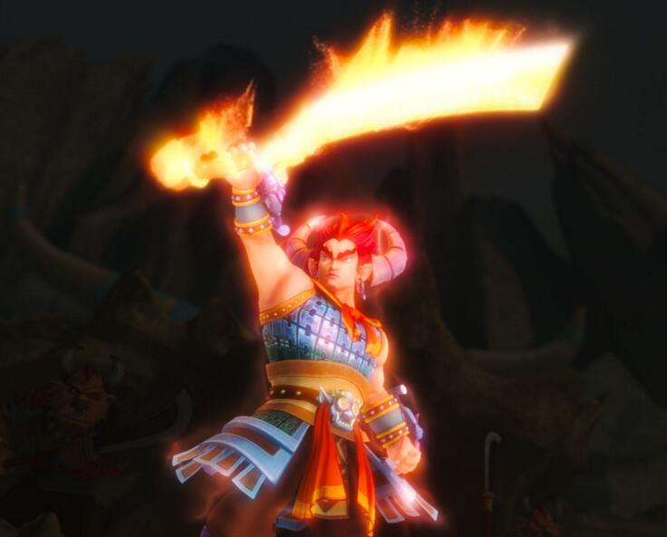 梦幻西游:大光武器的名字都不简单,每把都充满诗意豪情