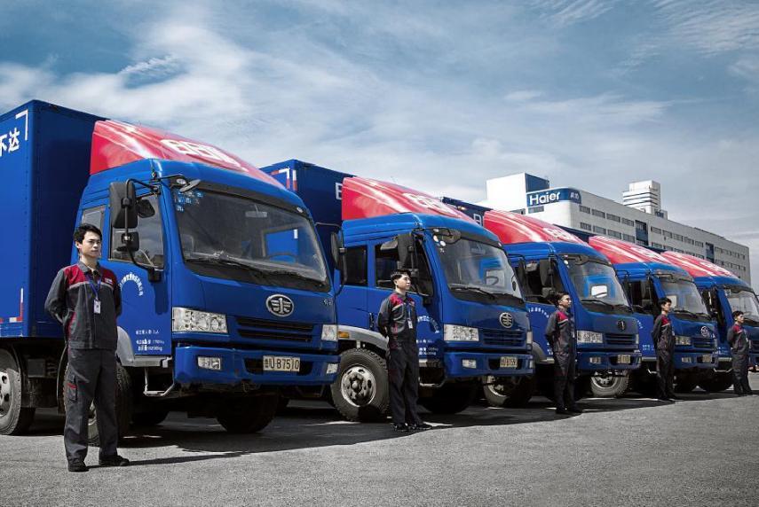 中国最低调物流巨头:拥有10万辆货车,背靠东家海尔集团