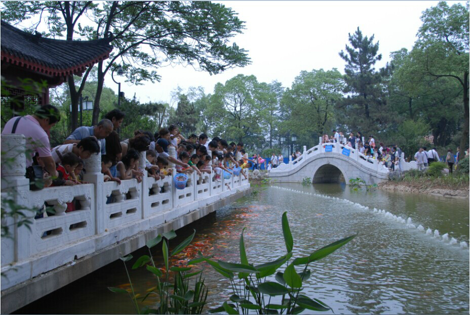 除了武汉市动物园,台州临海东湖,环境蛮好的旅游景点
