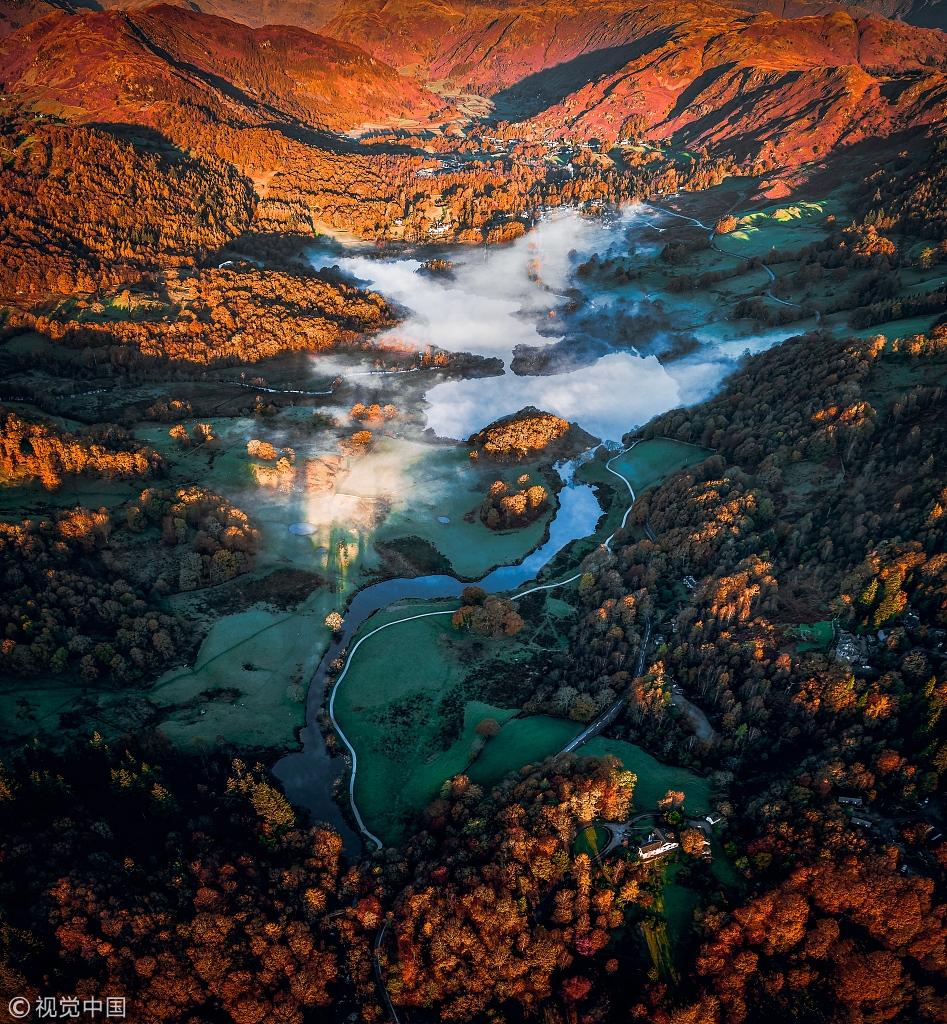 摄影师拍英国湖区著名景点 秋意正浓风景如画