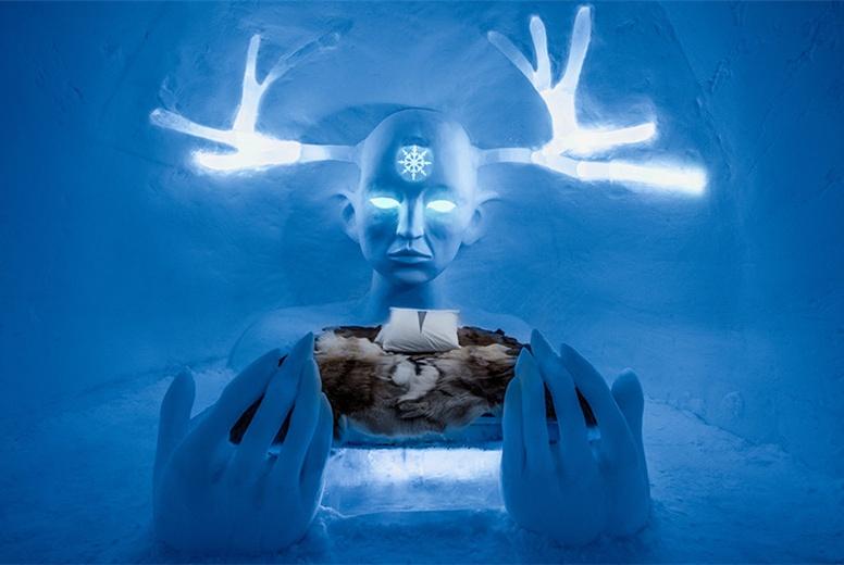 """全球最""""冻人""""的酒店:平常都在零下40度,却从来不缺住客"""