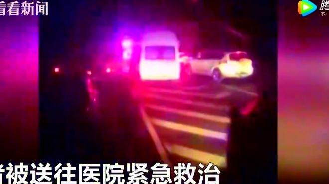 京台高速枣庄段发生货车追尾爆燃事故 附近村子窗户玻璃被震碎