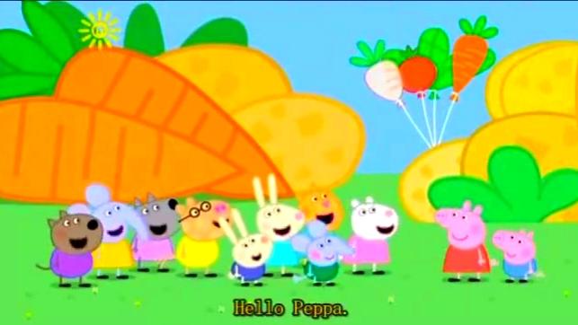 《小猪佩奇》乔治和佩奇,还有小羊淑熙一起去游乐场玩