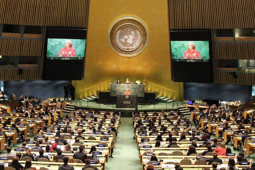 在联合国,中国能说汉语,日本申请通用日语却屡遭拒绝