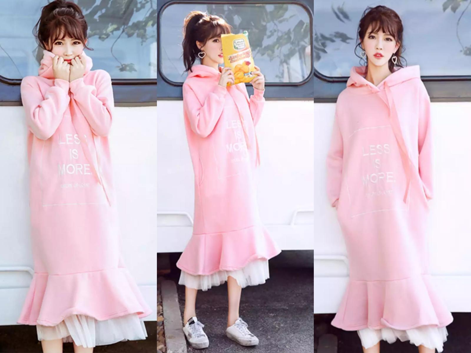 女生现在流行的衣服_对于我这种大大咧咧的女生来说,对于少女粉色这种色调来说,真的很难