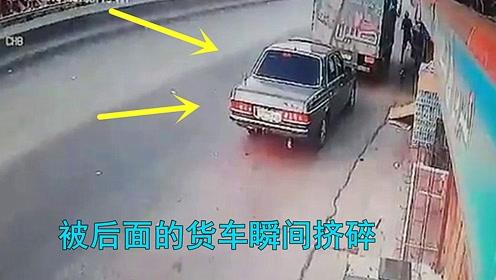 实拍3个大货车事故,原本都可以避免,可怜了一车人的性命!