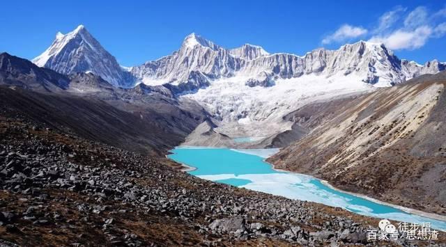 库拉岗日山:好一幅美丽的风景图! 一片独特,美丽的风景!