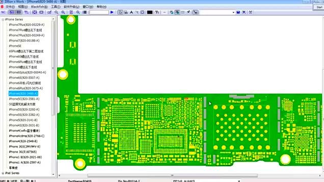 第三课 苹果手机维修 iphone6开机电路逻辑分析 待机