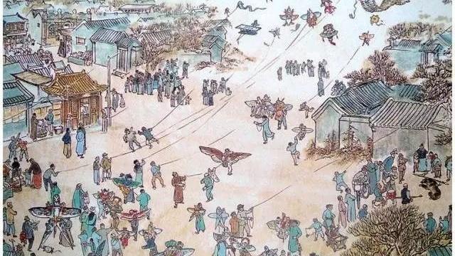 北城黑锅底南城瘦沙燕 北京人把风筝玩出这么多花样