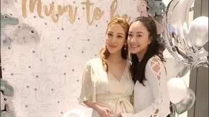 传3月生产 陈凯琳与好姐妹开派对庆祝宝宝来临