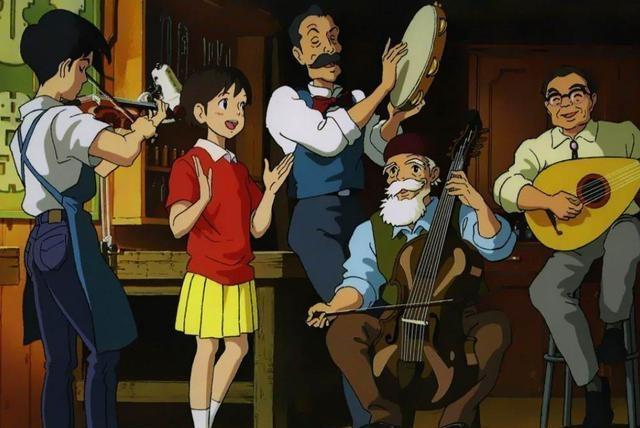 宫崎骏的这几部动漫,展现了爱情不同时期的模样