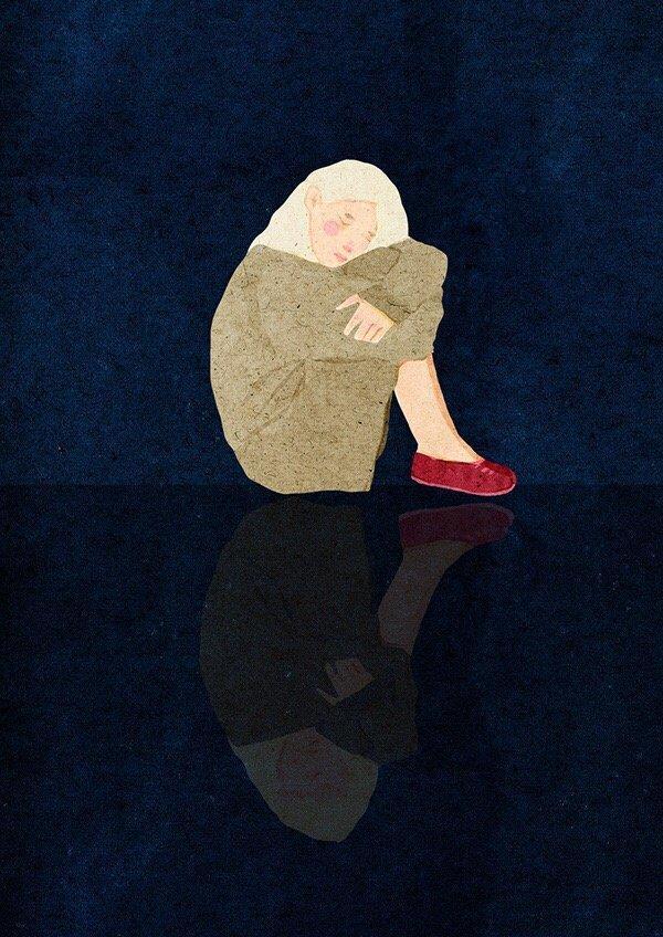 被伤透了心失望的说说,痛心入骨,一个人默默流泪!
