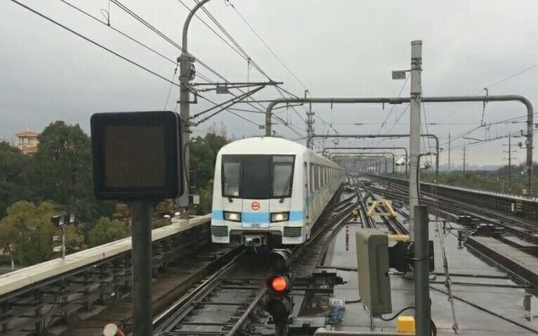 「pov60 2B」上海地铁9号线 九亭→松江新城 左侧pov
