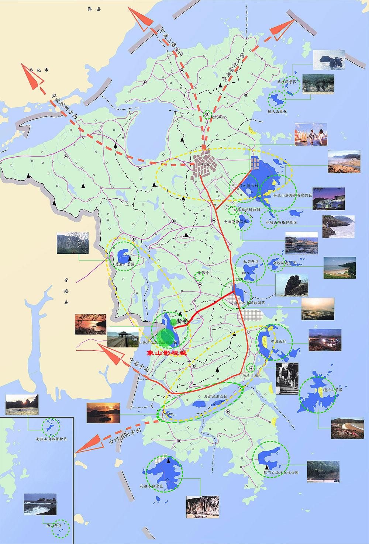 除了香港特别行政区海洋公园,宁波象山影视城,主题明确的旅游景点还有