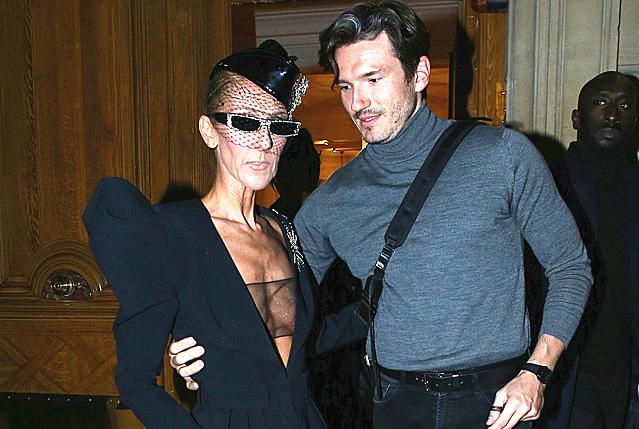 51岁赛琳迪昂练舞过度骨瘦如柴,每周花4天时间陪小男友跳芭蕾