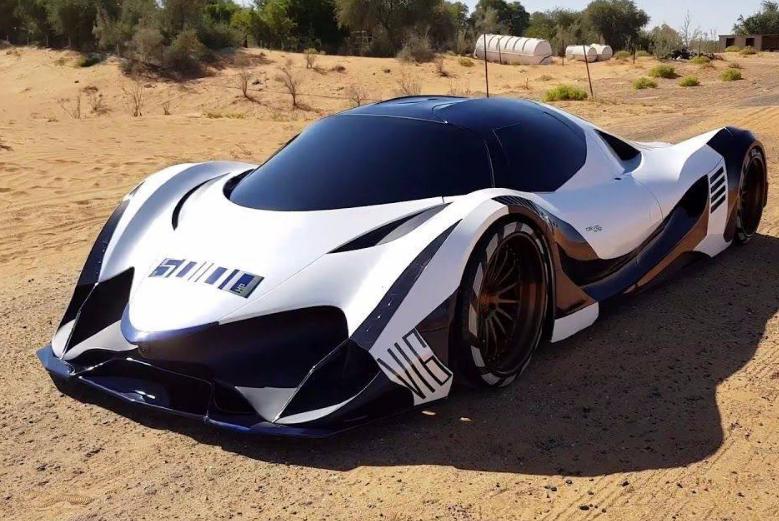 迪拜王子这跑车,售价5亿,但看到内饰,比亚迪车主:还没我的好