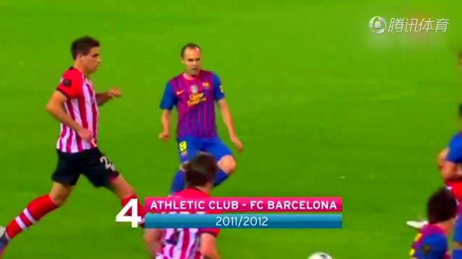这球你也就只能看看!梅西逆天一条龙领衔巴萨国王杯十佳球