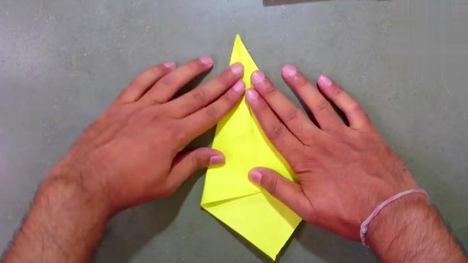 """幼儿园卡纸手工视频教程:用一张纸做的假""""钻石"""",心意同样够真"""