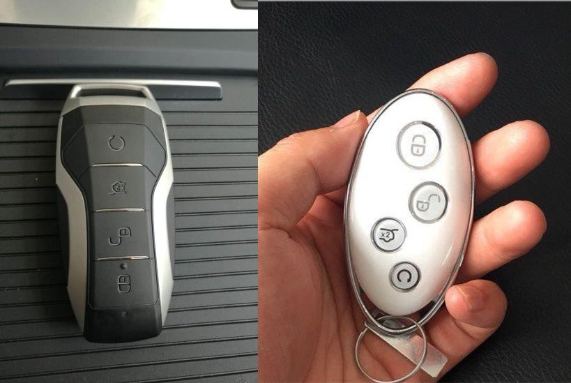 比亚迪e1车钥匙首次曝光,网友:反差太大