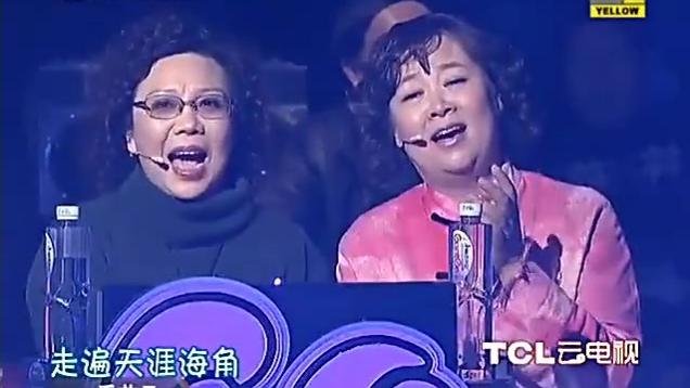 中野良子现场演唱中日文夹杂版的《大海啊 故乡》别有一番风味