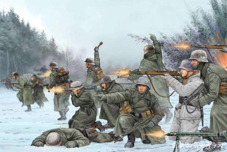 百万德军士兵在莫斯科冻死,他们为什么却不去抢劫苏联人呢