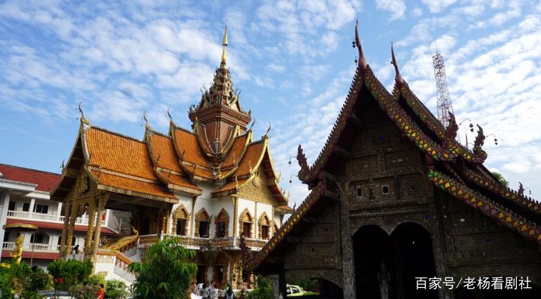 旅游:清邁城內遍布寺廟殿堂