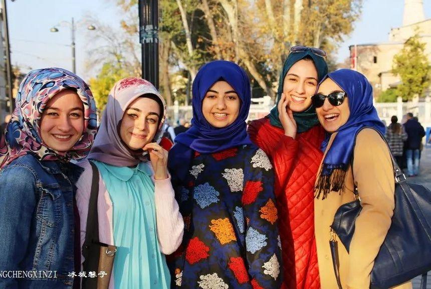 土耳其热情友好的微笑