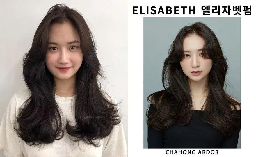2019春夏还是中长发?特搜韩国发型师发型范本图片