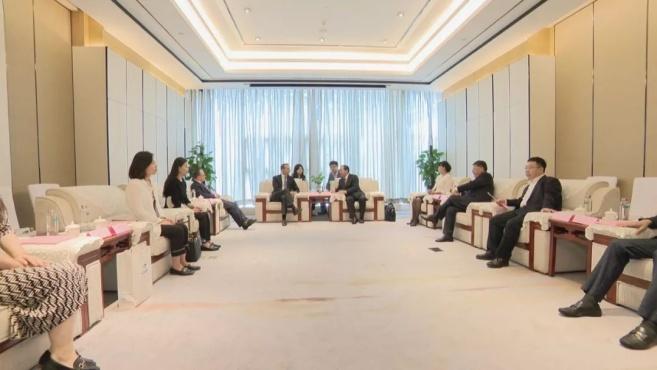 「视频」奥地利前总理科恩到访株洲 旨在推动与中车株机的合作