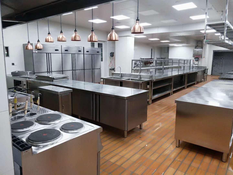 金堂五星级酒店厨房设备工程4