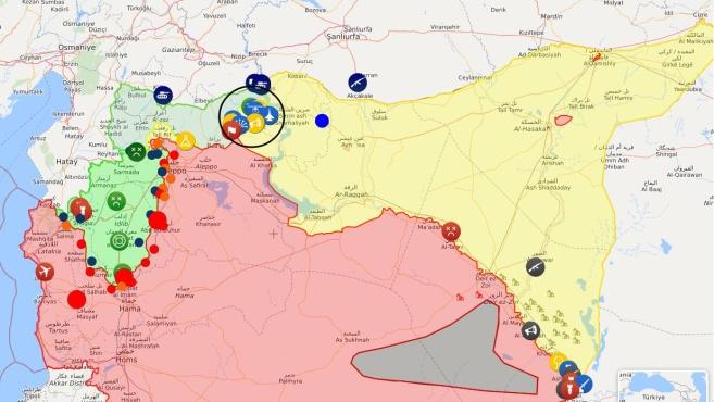库尔德请叙政府军先占曼比季 土耳其继续增兵