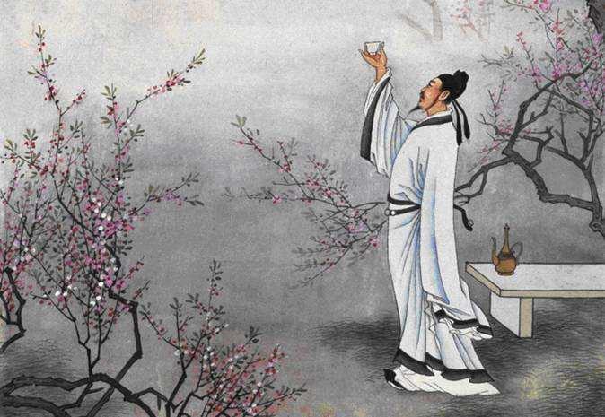 李白,离开故乡远游,写下《峨眉山月歌》,表达了这样的深厚感情