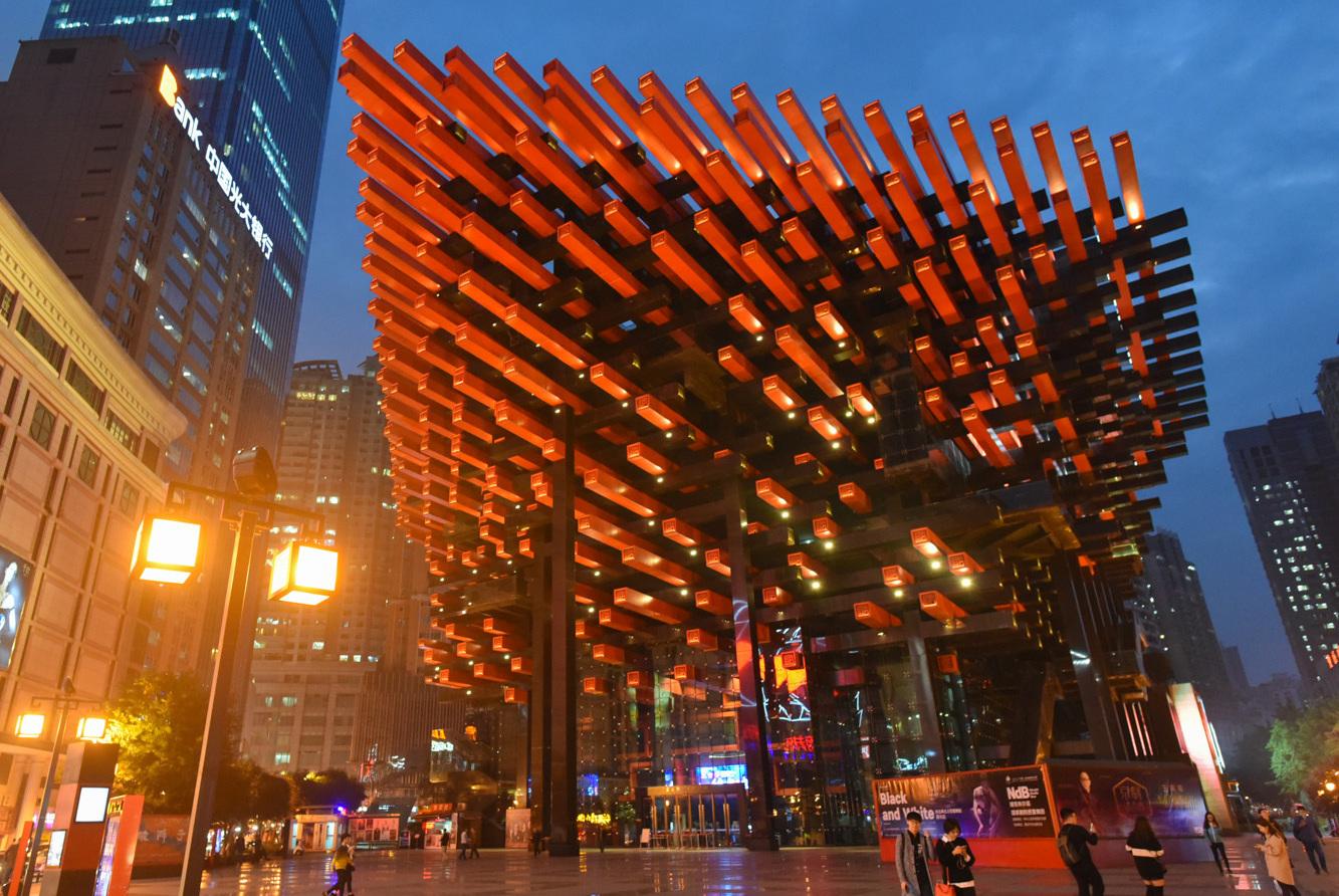 重庆旅游,7个必打卡的网红景点,去过算你厉害