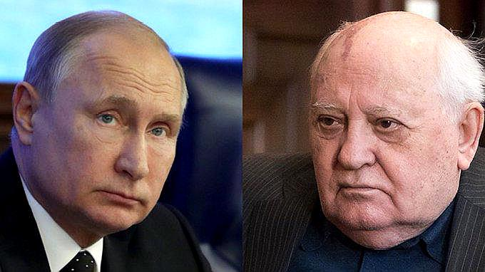 蘇聯因《中導條約》單方面解除武裝?戈爾巴喬夫反駁普京!