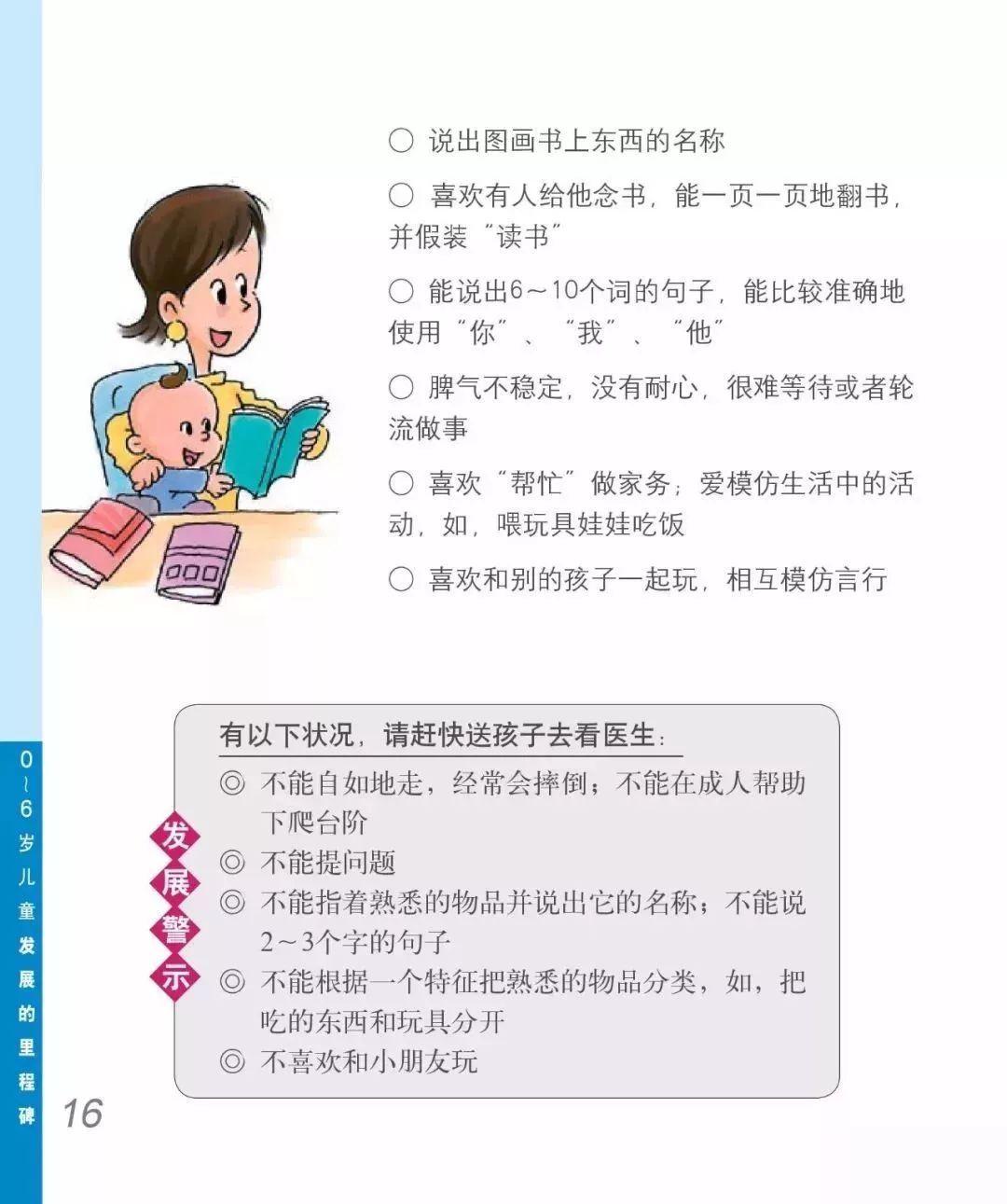 2-3岁宝宝成长须知