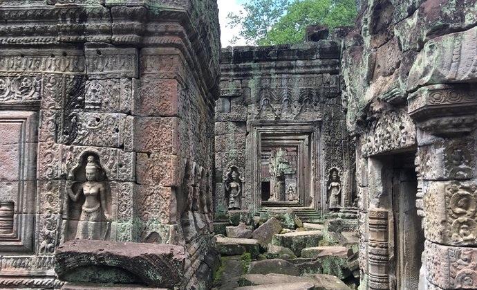 功改fj:-�h�^yK^�I_圣剑寺,是柬埔寨吴哥一座建于12世纪阇耶跋摩七世时期