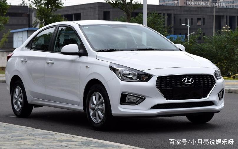 帅气的白色北京现代汽车,外形沉稳大气,气场非常足,设计的非常超现代图片