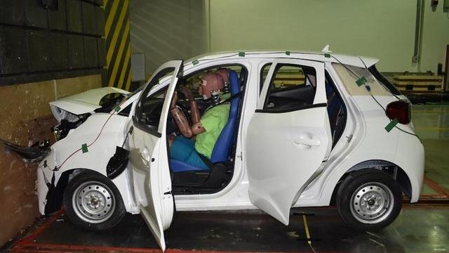帝亚一维重塑小型新能源车新安全标准 旗下小维产品碰撞测试成功