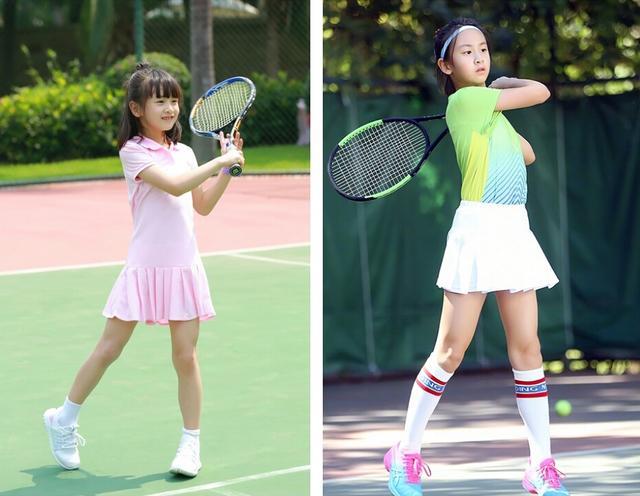 田亮女儿森碟近照,越长越美变身网球少女,大长腿吸睛图片